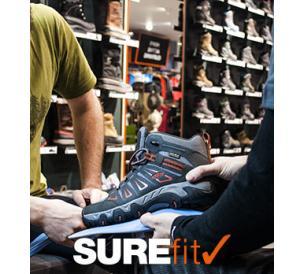 SUREfit Expert Footwear Fitting At Ellis Brigham