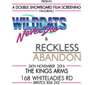 Never Die & Reckless Abandon Double Screening