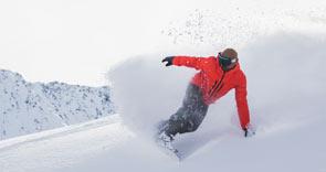 Men's snowboarding equipment