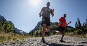 Men's trail running gear