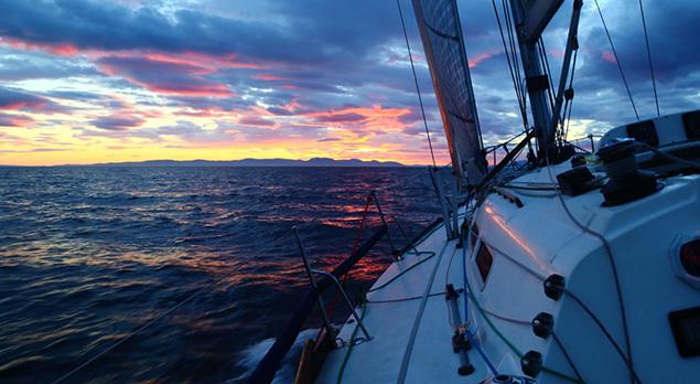 3 Peaks Yacht Race Report