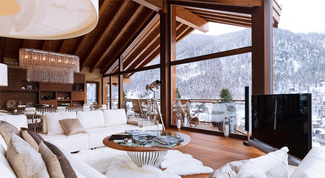 5 Luxury Ski Chalets That Will Make Your Jaw Drop