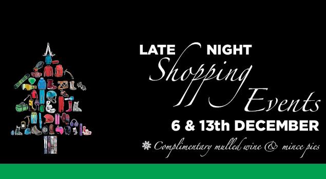 Christmas Shopping Evenings