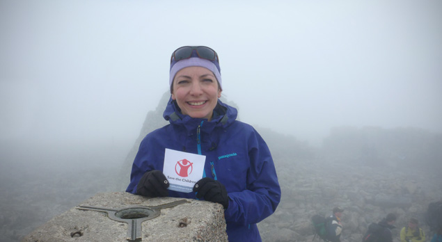Meet our mountaineering Supermum
