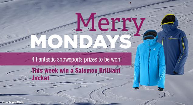 Merry Mondays - Win a Salomon Ski Jacket