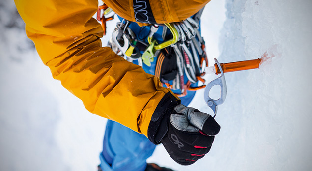 Petzl Ice Screw Competition