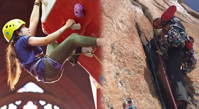 The Transition From Indoor To Outdoor Climbing