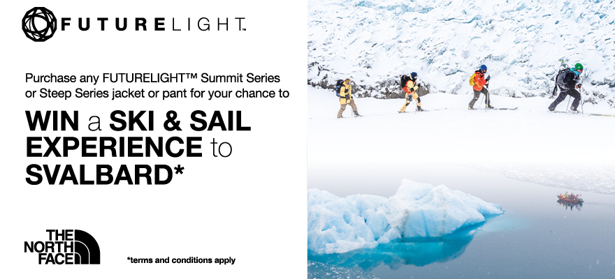 Win a Trip to Svalbard with The North Face FUTURELIGHT™