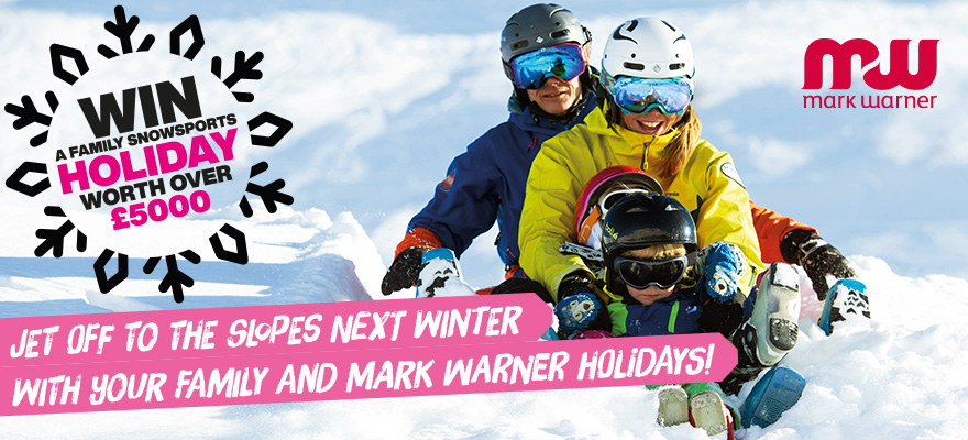 Win a family snowsports holiday worth over 5000