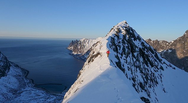 Greg Boswell Climbing Tales From Norway
