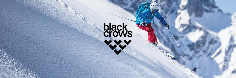 Black Crows Brand Logo