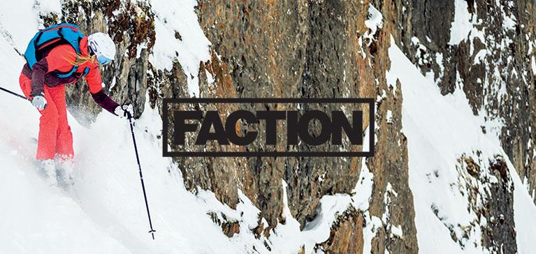 Faction brand Logo