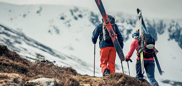 Backcountry ski tourers