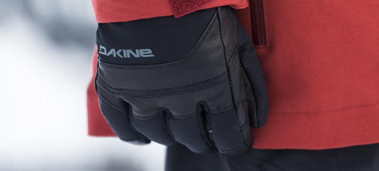 Black Dakine Gloves