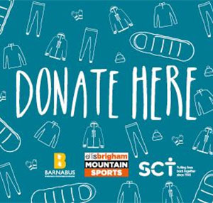Donate your unwanted outdoor gear