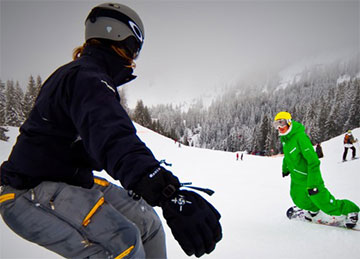 Why take snowboard lessons?