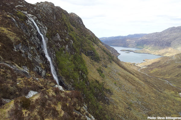 Eas a' Chual Aluinn waterfall