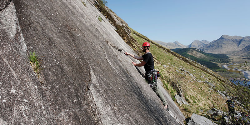 Find the confidence to climb outside