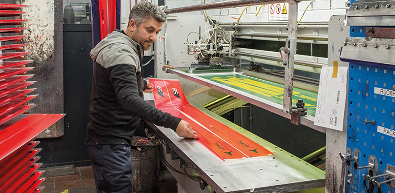 how skis are made pre-production