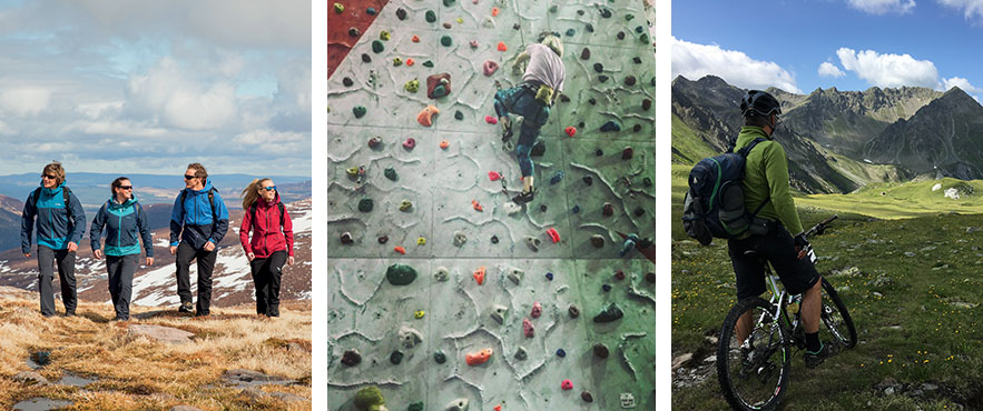 Climbers Against Cancer Activities