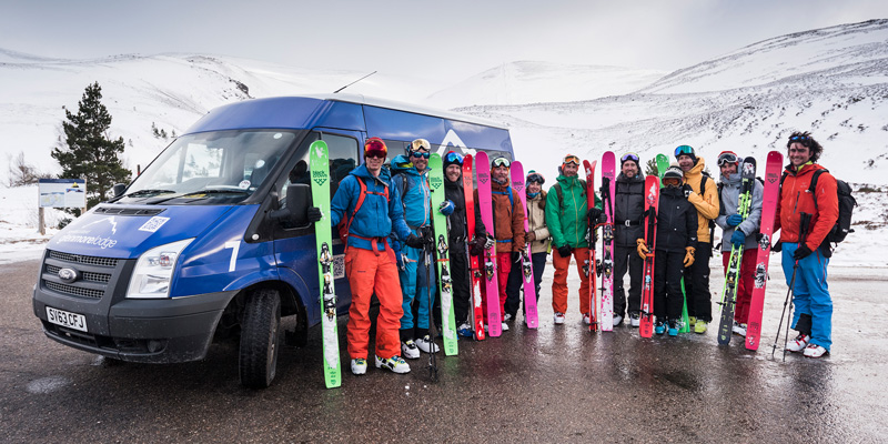 Glenmore Lodge Wild Ski Weekend