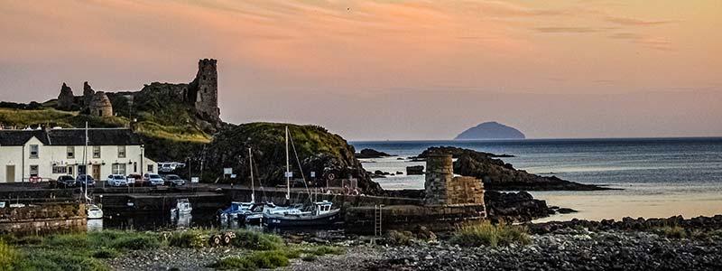 Dunure Beach Ayr