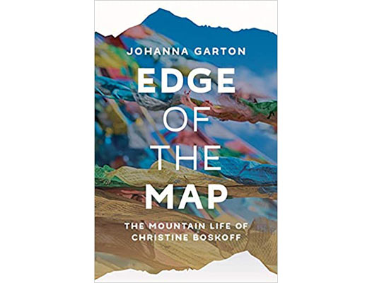 Edge of the Map: The Mountain Life of Christine Boskoff Book Cover