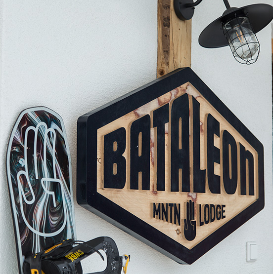 Bataleon snowboard by Bataleon sign