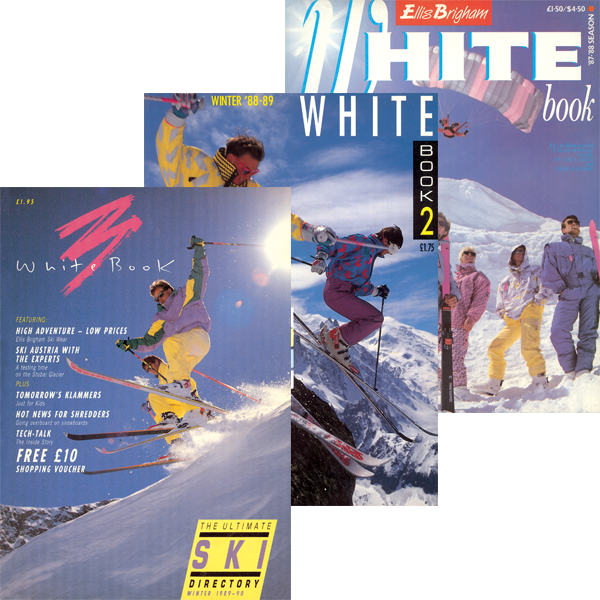 White book front covers