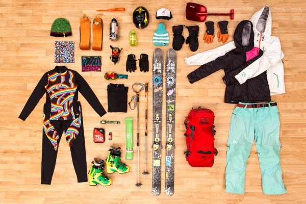 Backcountry Skiing Equipment knoll