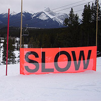 a slow your speed sign
